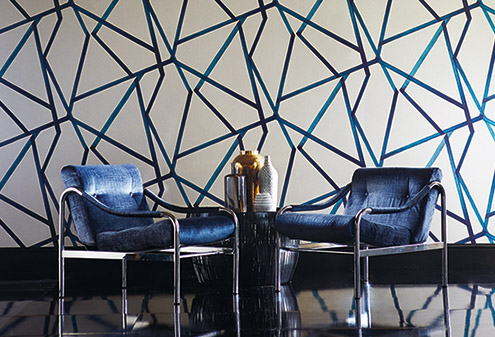 maison-interiors-blue-striped-momentum-wallpaper