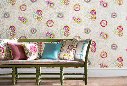 maison-interiors-flower-harlequin-wallpaper