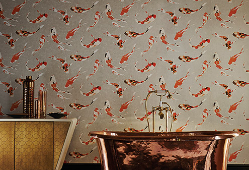 maison-interiors-koi-carpe-momentum-wallpaper