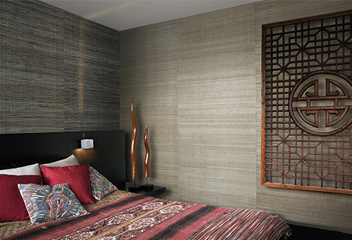 maison-interiors-brown-white-textured-wallpaper