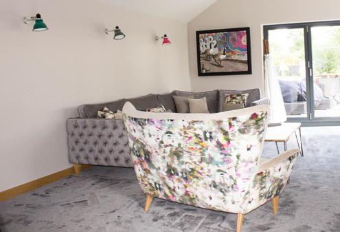 Custom Made Living Room Seating