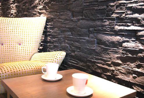 Cafe Interior Staging