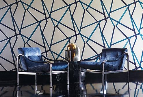 1-maison-interiors-blue-striped-momentum-wallpaper