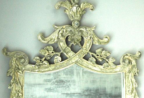 Ornate Bedroom Mirror