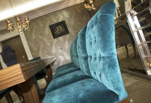 Custom Made Velvet Dining Chairs