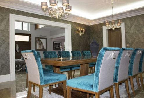 Velvet Dining Suite Design