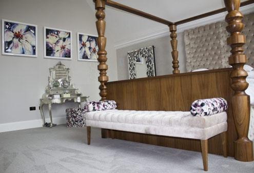 Custom Made Bedroom Seating