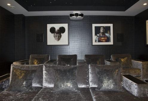 Cinema Room Interior Design