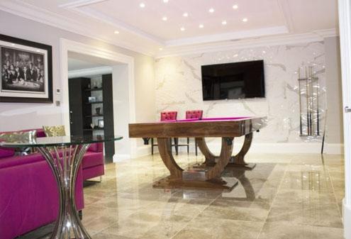 Entertainment Room Interior Design