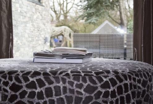 Custom Made Plush Stool Cushion