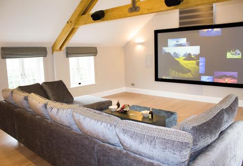 Home Cinema Interior Design